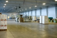 the pristine warehouse floor of St. David's Hydroponics
